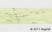 Physical Panoramic Map of Zongombia