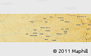 Physical Panoramic Map of Aola