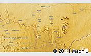 Physical 3D Map of Dramba