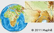 Physical Location Map of Dramba