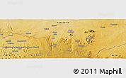Physical Panoramic Map of Dramba