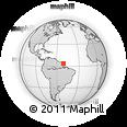 Outline Map of Jenipapo, rectangular outline
