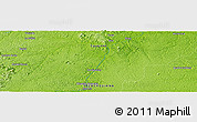 """Physical Panoramic Map of the area around 3°51'2""""N,52°37'30""""W"""