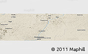 """Shaded Relief Panoramic Map of the area around 3°51'2""""N,52°37'30""""W"""