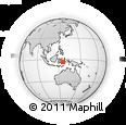 Outline Map of Masarete, rectangular outline