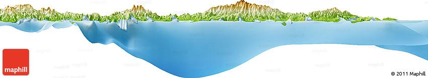 Physical Horizon Map of Ambon
