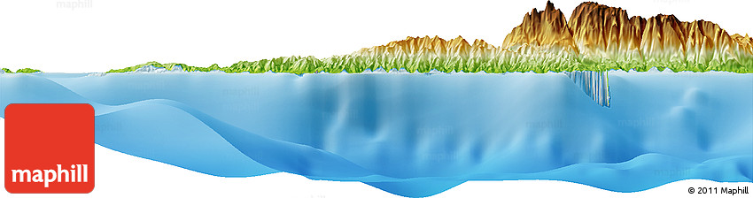 Physical Horizon Map of Negriangus