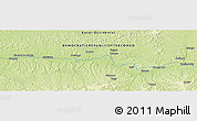 "Physical Panoramic Map of the area around 3° 30' 2"" S, 21° 19' 30"" E"