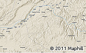 """Shaded Relief Map of the area around 3°30'2""""S,28°7'30""""E"""