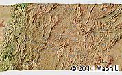 Satellite 3D Map of Budida