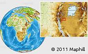 Physical Location Map of Muyange