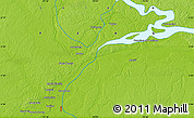 """Physical Map of the area around 3°30'2""""S,73°1'30""""W"""