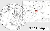 Blank Location Map of Benicarló