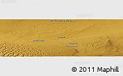 Physical Panoramic Map of Indertin Hudag