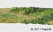 "Satellite Panoramic Map of the area around 40°23'48""N,115°40'30""E"