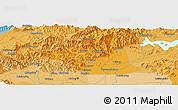 Political Panoramic Map of Dadongliu