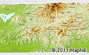 Physical 3D Map of Xigou