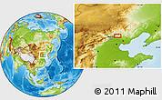 Physical Location Map of Xigou