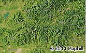 Satellite Map of Chiushugou