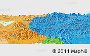"""Political Panoramic Map of the area around 40°23'48""""N,117°22'30""""E"""
