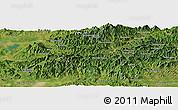 "Satellite Panoramic Map of the area around 40°23'48""N,117°22'30""E"
