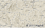Shaded Relief Map of Caonian