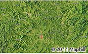 "Satellite Map of the area around 40°23'48""N,123°19'29""E"