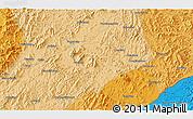 Political 3D Map of Daweizigou