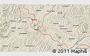 Shaded Relief 3D Map of Daweizigou