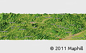 Satellite Panoramic Map of Sitaizi