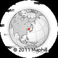 Outline Map of Hoha-ri, rectangular outline
