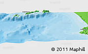 """Political Panoramic Map of the area around 40°23'48""""N,14°31'30""""E"""