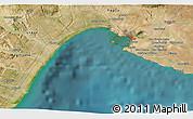 Satellite 3D Map of Montescaglioso