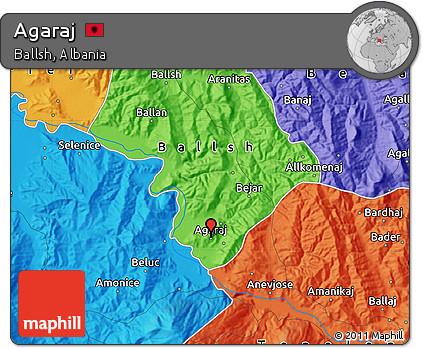 Political Map of Agaraj