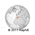 """Outline Map of the Area around 40° 23' 48"""" N, 2° 37' 30"""" E, rectangular outline"""