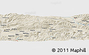 Shaded Relief Panoramic Map of Tokat