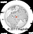 Outline Map of Narman, rectangular outline