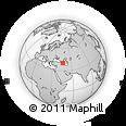 Outline Map of Mount Omar, rectangular outline