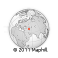 Outline Map of Zirǝ, rectangular outline