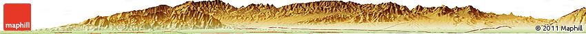 Physical Horizon Map of Khujand