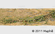 Satellite Panoramic Map of El Payo