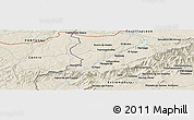 Shaded Relief Panoramic Map of El Payo