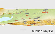 Physical Panoramic Map of Beshariq