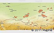 Physical 3D Map of Urakchi