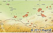 Physical Map of Urakchi