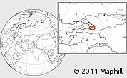 Blank Location Map of Quva