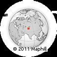 Outline Map of Quva, rectangular outline