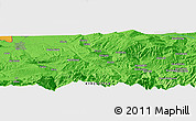 Political Panoramic Map of Osh