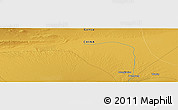 Physical Panoramic Map of Wudun