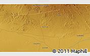Physical 3D Map of Choushuidun